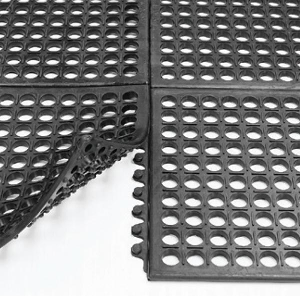 Electrically Conductive Interlocking Drainage Tiles   American Floor ...